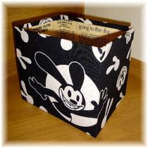 "CD size box with ""Oswald""/Box making #144 ©Atelier Z=Grace"