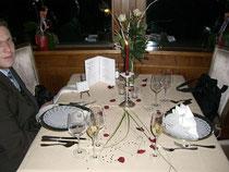 Der Antrag beim Abendessen