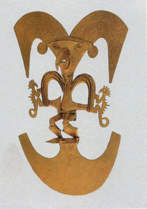 Figure 2-3: Pre-Columbian gold work