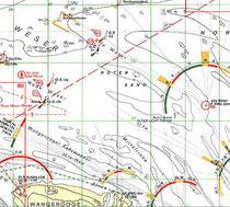 Ausschnitt Seekarte