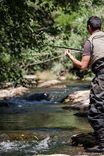 Vidéo la chambre sur la pêche dhiver