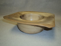 Square edge wavy rim Bowl