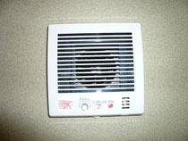 湿度センサー付パイプファン