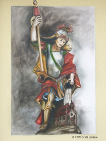 Der Heilige Florian in Groß Lindow