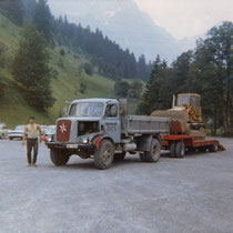 Chauffeur damals, Robert Truttmann aus Seelisberg