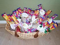 Ein gut gefüllter Osterkorb konnte an die Schatzsucher verteilt werden
