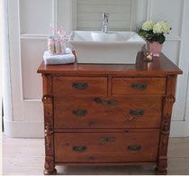 neu antiker waschtisch natur land liebe. Black Bedroom Furniture Sets. Home Design Ideas