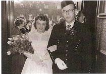 Hochzeit in Berlin, 1957: Eva und Heribert Riedler