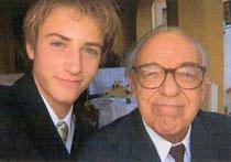 Heribert Riedler mit Enkel Benedikt