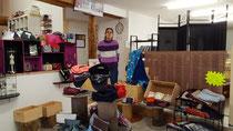 Boutique et atelier de créations textiles artisanales