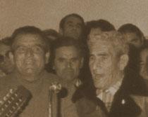 Pencho de la Cazurra, el Pequeñín y Joselín, guías del Aguilando