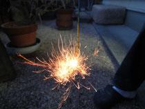 東の線香花火