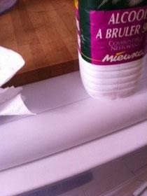 enlever une tache de stylo bille sur un lave vaisselle blanc test et approuv enlever les. Black Bedroom Furniture Sets. Home Design Ideas