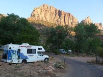 Watchman Campground Zion