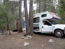 Tualoumne Meadows Campgrond Yosemite
