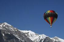 Ballongondel Luftbestattung Flugbestattung