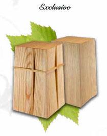 Designer Holz Urne