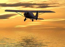 Luftbestattung Flugzeugbestattung