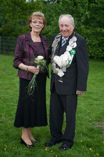 Königspaar 2012: Josef Ening und Walburga Bessler