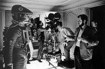 Stanley Kubrick (right) - 2001: A Space Odyssey