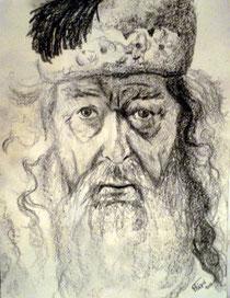 Albus Dumbledore, dibuix de Pol Peiró.