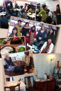 勉強会+ランチ+新店舗見学会
