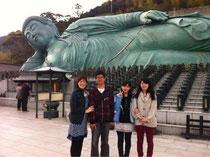 2013年4月 子ども達と南蔵院へ行ってきました!