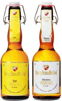 JungfrauBräu in der 33cl Bügelflasche