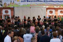 Auftritt beim Bürgerfest Bayreuth