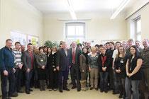 Teilnehmer am Jobday 2012