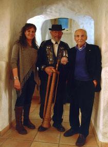 Els Gassmann, Kari Langenstein, Hanspeter Sager (Foto K. Buchmüller)