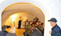 Klosterkeller gab würdiges Ambiente