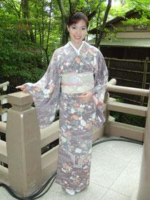 日本の心・日本の絆」着物ショー出演
