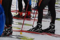 ski fond au plateau des glieres