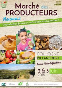 Marché de producteurs de pays Lot à Boulogne Billancourt