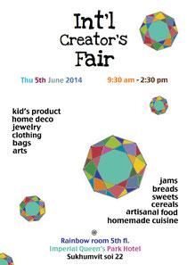 Creators Fair/ JUne 2014