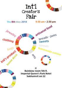 Creator's Fair/ May 2014