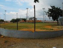 Terreno de juego de la pequeña liga Danilo Cedeño. Al lado del Polideportivo, Leoncio Mercedez.