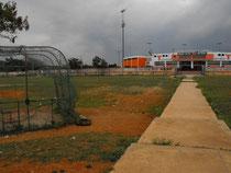 Terreno de juego de la Liga Baseball Eduardo Phipps. Frente al Francisco A Micheli. LR
