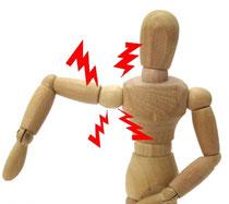 手首や足首のしびれ・痛みは頭蓋骨、首、肩、サコツ、踵から
