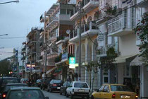 A street in the center of Igoumenitsa