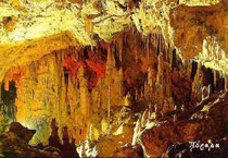 Inside the Perama cave