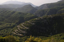 Road in Zagori region