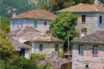 Traditional stone houses in Mikro Papigo
