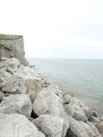 Tag 9: Still in Galway ❤. Hier: Klippe an der Galway-Bay
