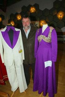 Helmut Kepler mit seinem alten Prinzengewand