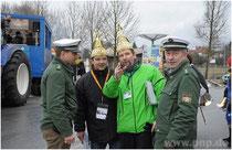 Polizei mit Präsident Markus Lorenz und Matthias Hecka