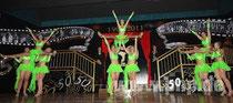 Pockinger Prinzengarde mit ihrem Showtanz zur Jubiläumsinthronisation 2011
