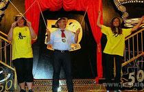 Bürgermeister Franz Krah bei der Eröffnung des Gartlerballs in der Stadthalle Pocking