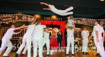 Flugeinlage der 11er Danceboys